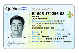 Canadian drivers licence