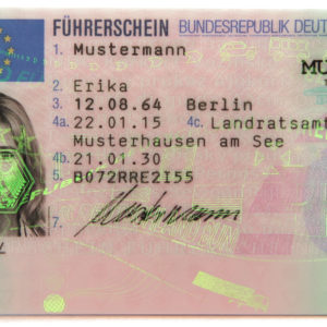 German Driver's License
