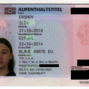 German Residency Visa